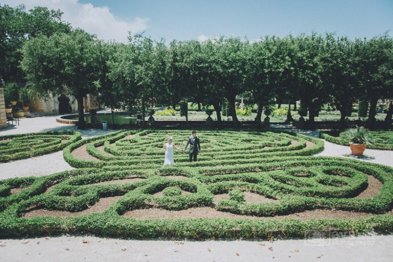 Cintia Andre Wedding Photography At Vizcaya Museum And